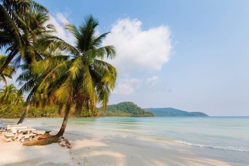 Paisaje tropical de Koh Kood foto de archivo
