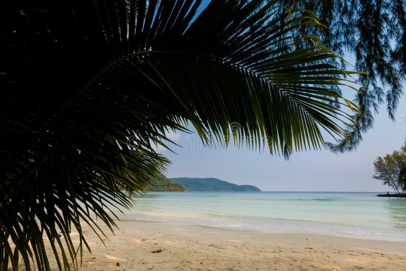 Paisaje tropical de Koh Kood fotos de archivo libres de regalías