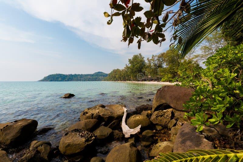Paisaje tropical de Koh Kood foto de archivo libre de regalías