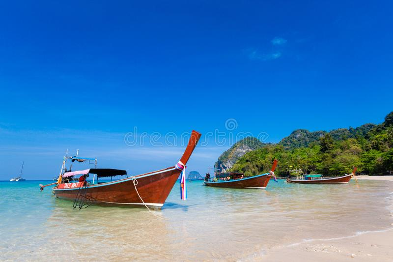 Paisaje tropical de Koh Mook fotografía de archivo libre de regalías