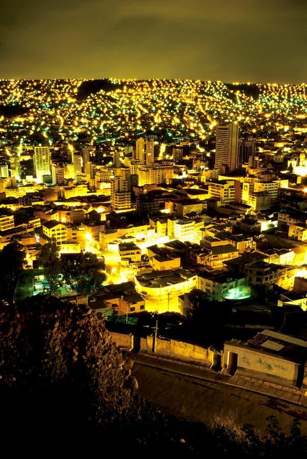 Download Paisaje Urbano Bolivia De Paz De La Foto de archivo - Imagen de aymara, sunrise: 1281916