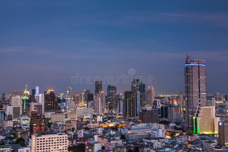 Paisaje urbano de Bangkok foto de archivo