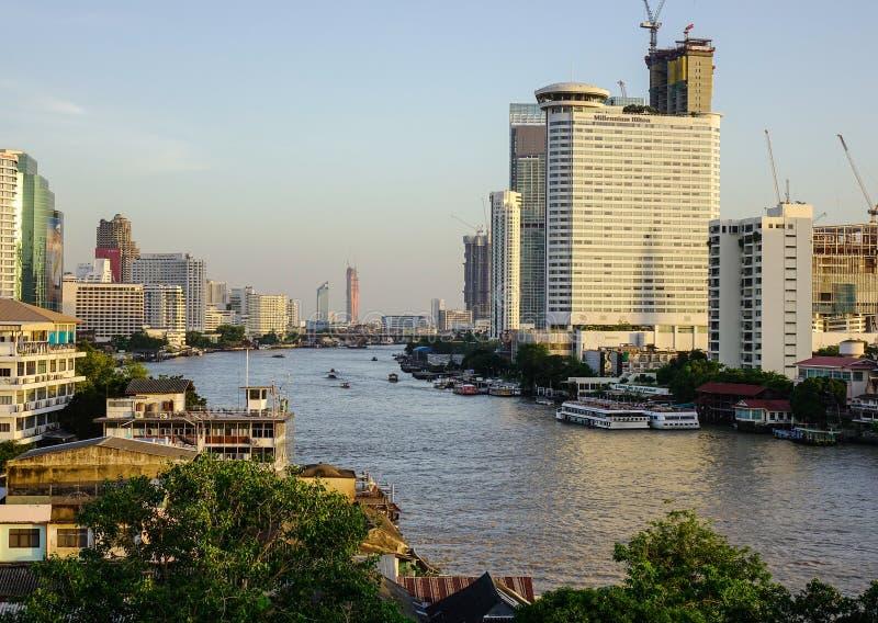 Paisaje urbano de Bangkok, Tailandia fotos de archivo libres de regalías