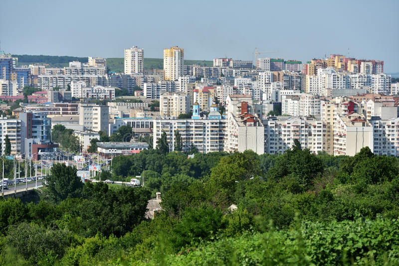 Paisaje urbano de Belgorod, Rusia imagenes de archivo