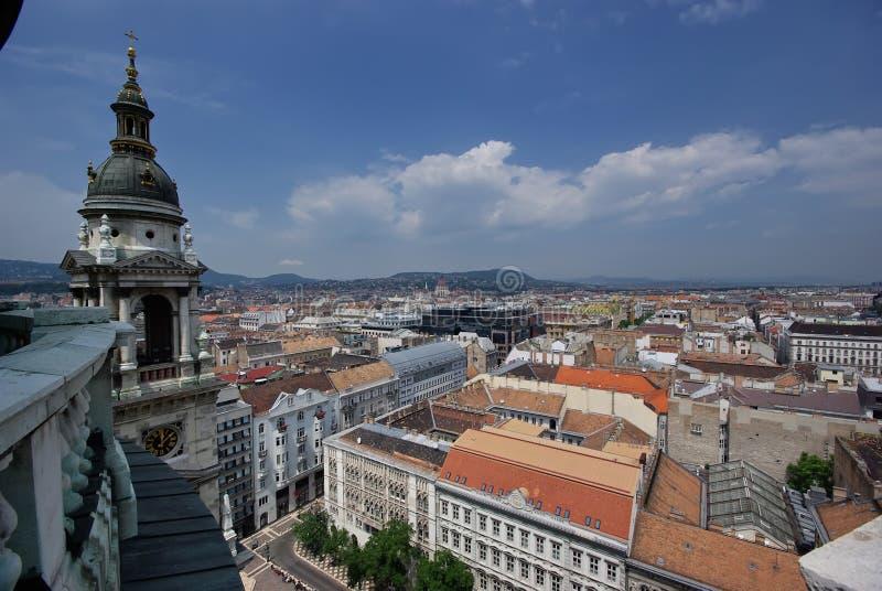 Paisaje urbano de Budapest imágenes de archivo libres de regalías