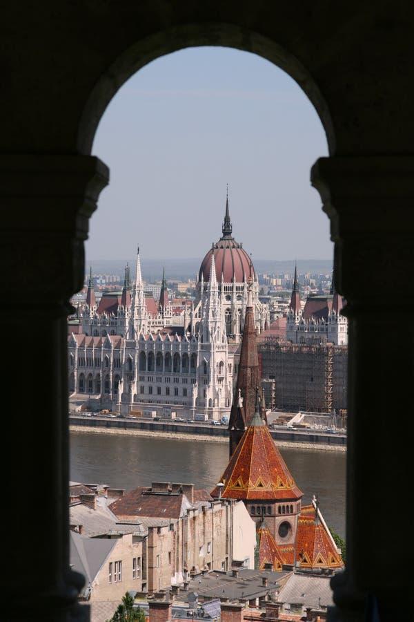 Paisaje urbano de Budapest foto de archivo libre de regalías