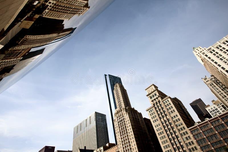 Paisaje Urbano De Chicago La Haba Foto editorial