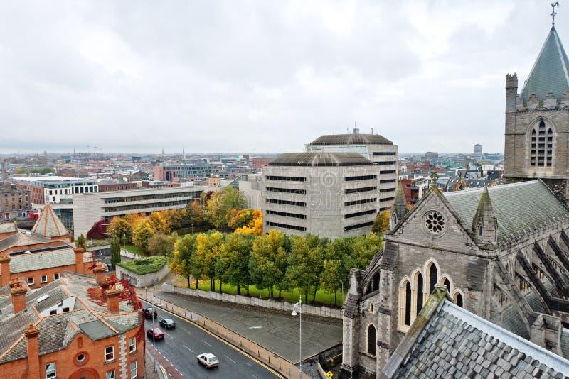 Paisaje urbano de Dublín. Irlanda imagen de archivo libre de regalías