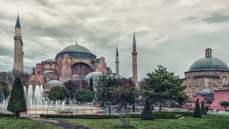 Paisaje urbano de Estambul en d3ia imagen de archivo