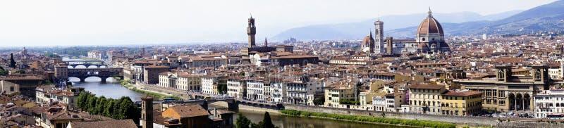 Paisaje urbano de Florencia foto de archivo