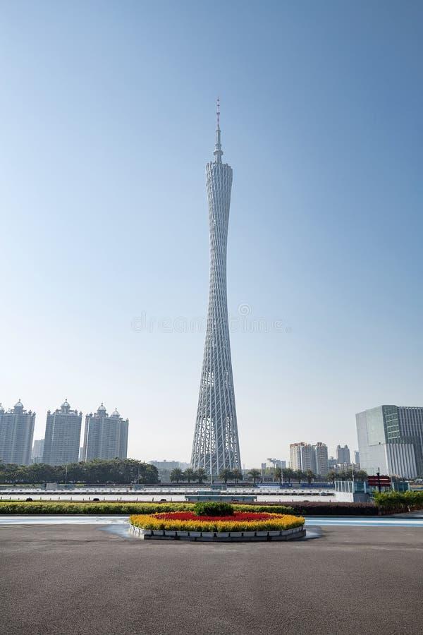 Paisaje urbano de Guangzhou imagen de archivo libre de regalías