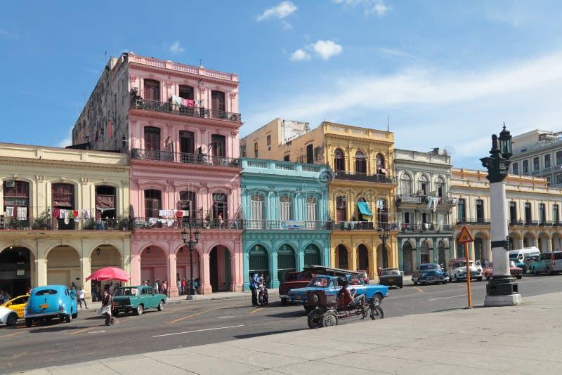 Paisaje urbano de La Habana fotografía de archivo