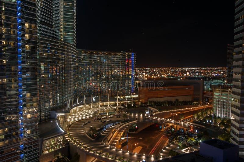 Paisaje urbano de Las Vegas fotografía de archivo libre de regalías
