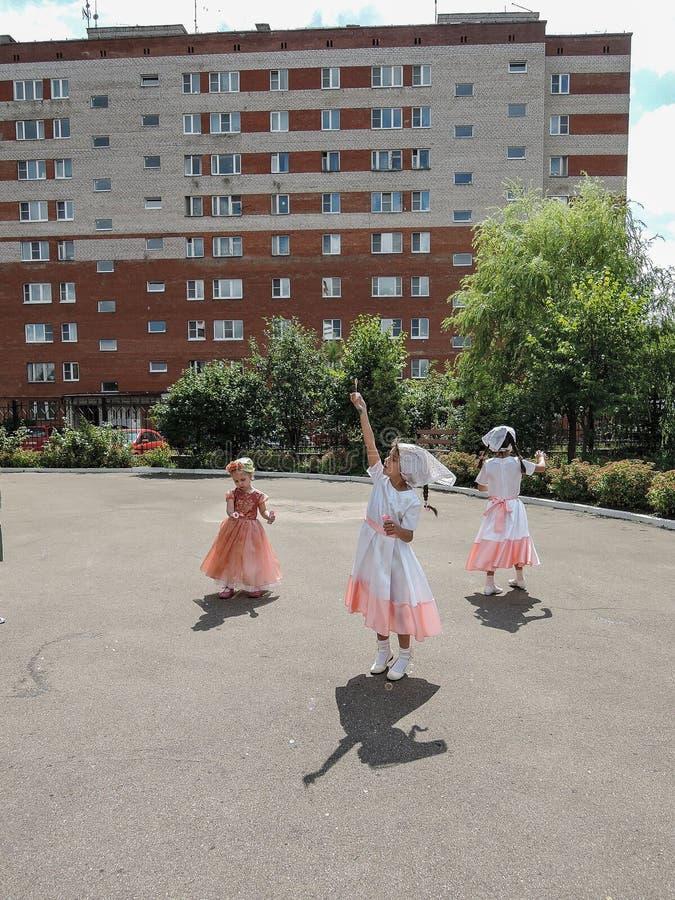 Paisaje urbano de Moscú fotografía de archivo
