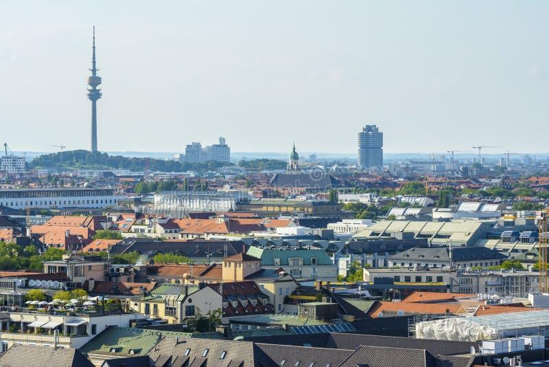 Paisaje urbano de Munich imagen de archivo