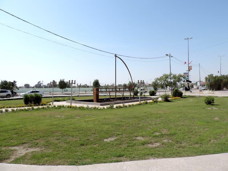 Paisaje urbano de Nayaf, Iraq fotos de archivo libres de regalías