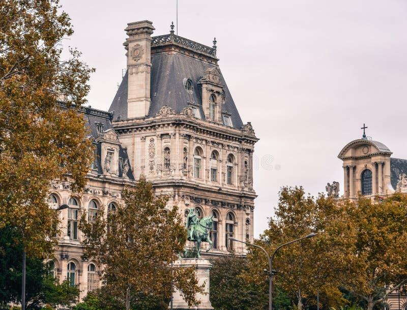 Paisaje urbano de París, Francia fotografía de archivo