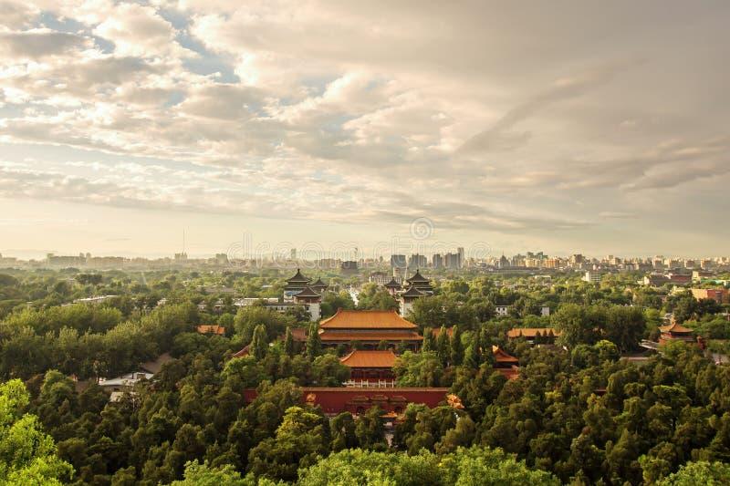Paisaje urbano de Pekín imágenes de archivo libres de regalías