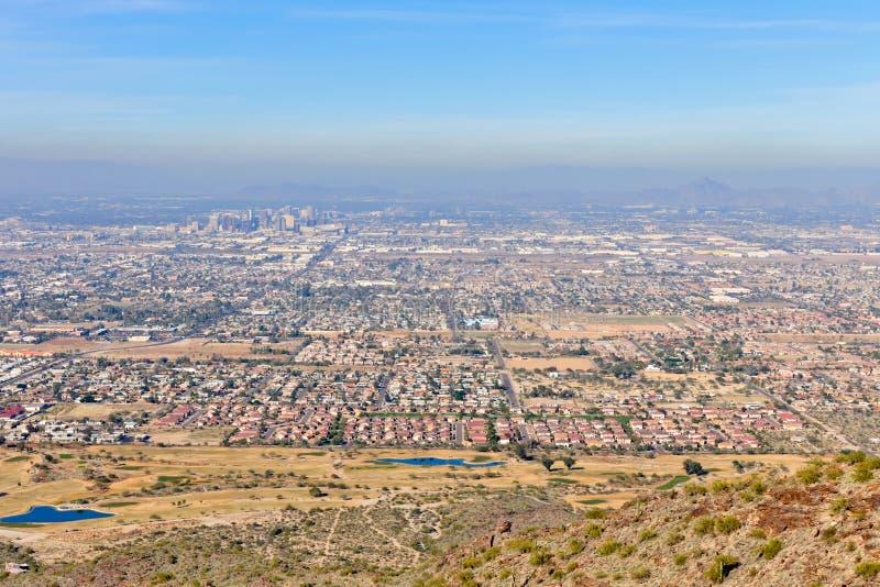 Paisaje urbano de Phoenix foto de archivo