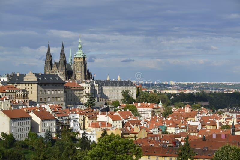 Paisaje urbano de Praga fotos de archivo libres de regalías