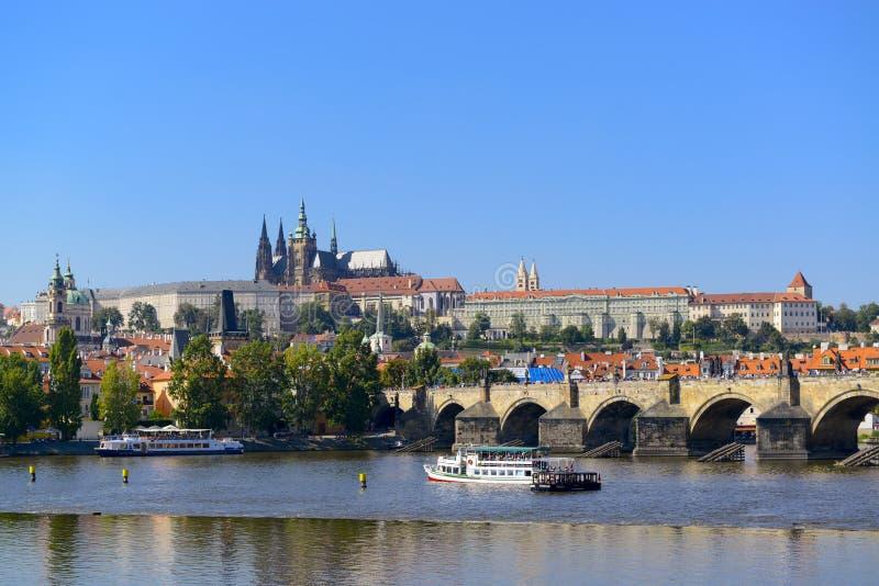 Paisaje urbano de Praga imagen de archivo