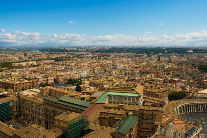 Paisaje urbano de Roma céntrico foto de archivo libre de regalías