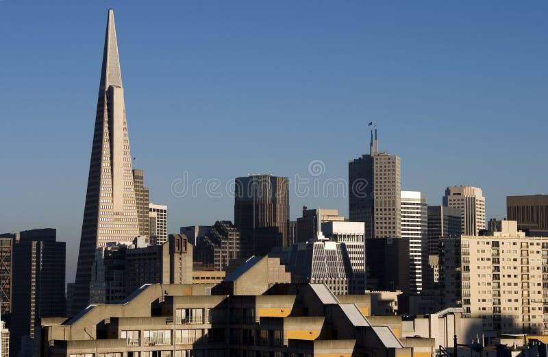 Paisaje urbano de San Francisco fotografía de archivo libre de regalías