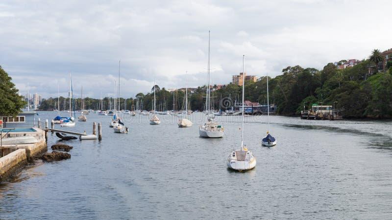 Paisaje urbano de Sydney, Australia foto de archivo libre de regalías
