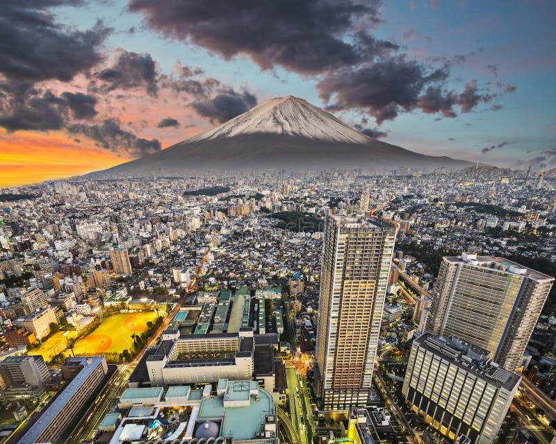 Paisaje urbano de Tokio fotografía de archivo