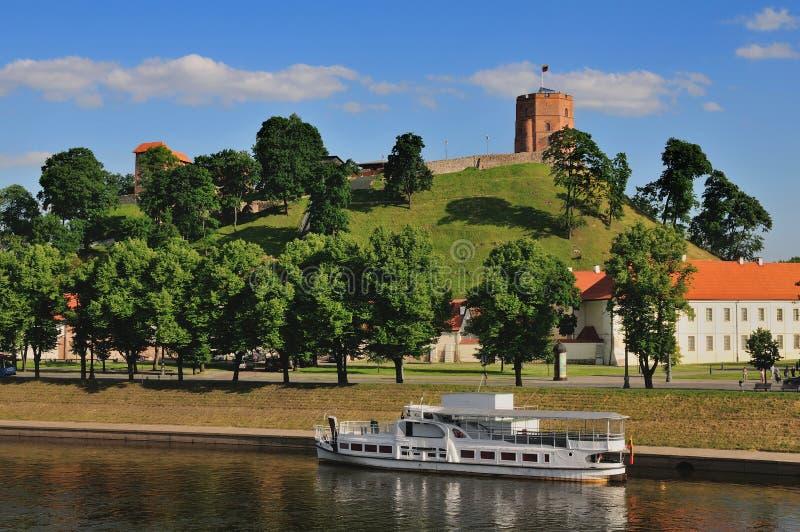 Paisaje urbano de Vilnius imágenes de archivo libres de regalías