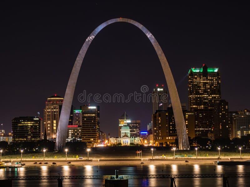 Paisaje urbano del Saint Louis imágenes de archivo libres de regalías