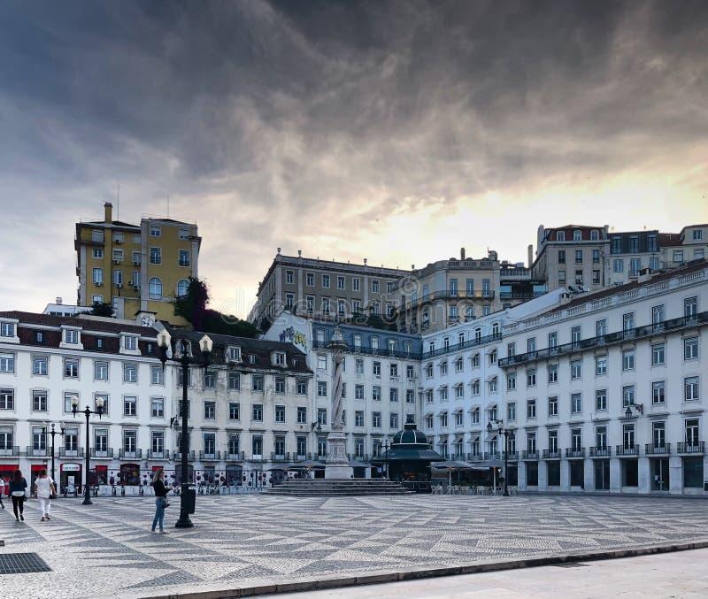 Paisaje urbano Portugal de Lisboa fotografía de archivo