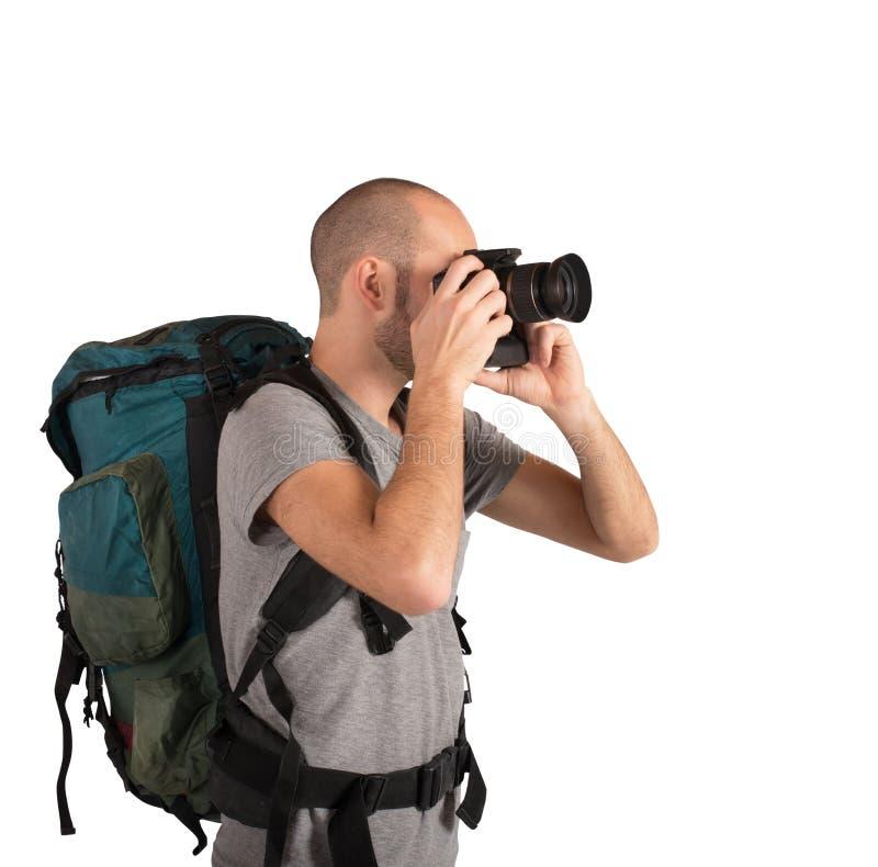 Paisajes de fotografía del explorador fotografía de archivo libre de regalías