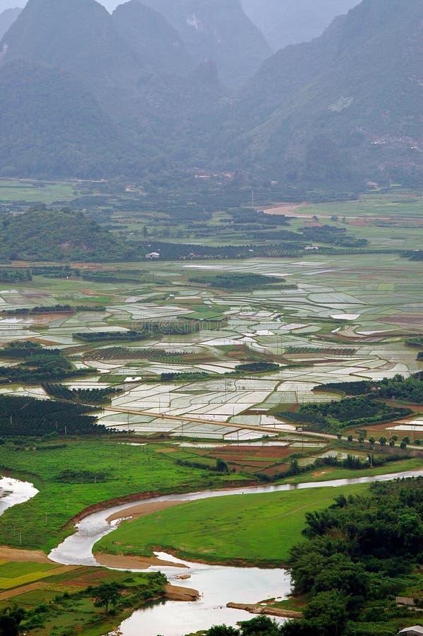 Paisajes de Guilin fotografía de archivo libre de regalías