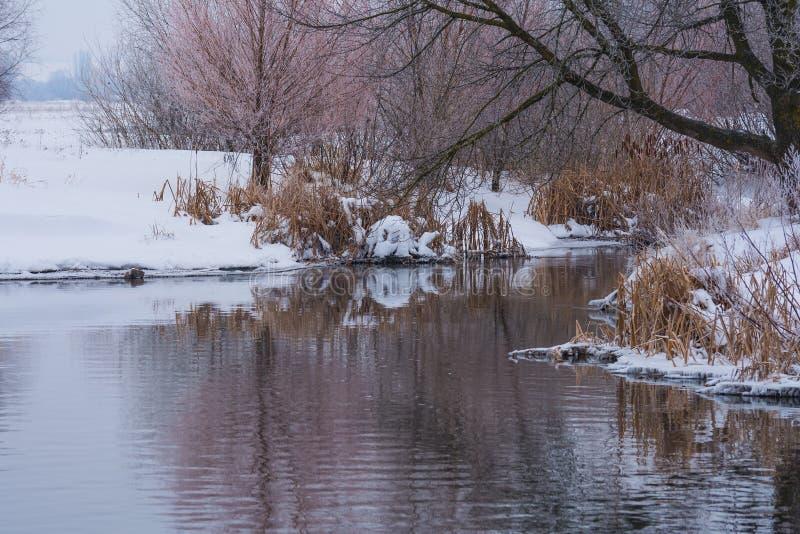 Paisajes del invierno imagen de archivo