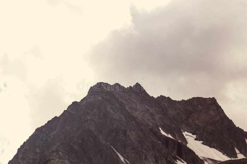 Paisajes en la carretera de Denali alaska Filtro de Instagram fotos de archivo libres de regalías