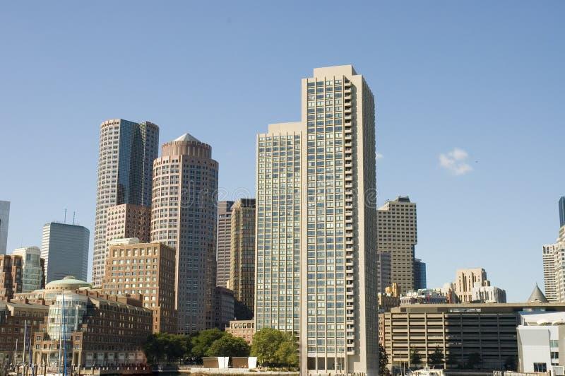 Paisajes urbanos de Boston foto de archivo libre de regalías