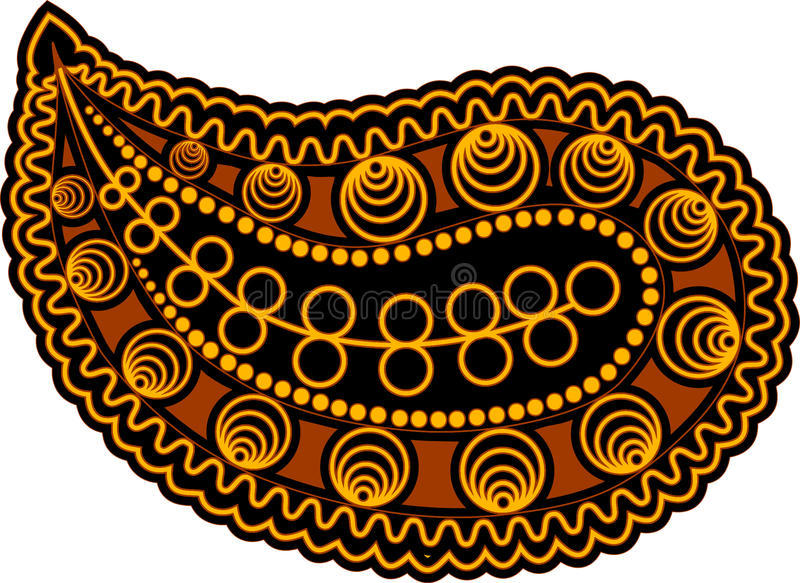 Download Paisley stock illustration. Illustration of abstract - 22712417