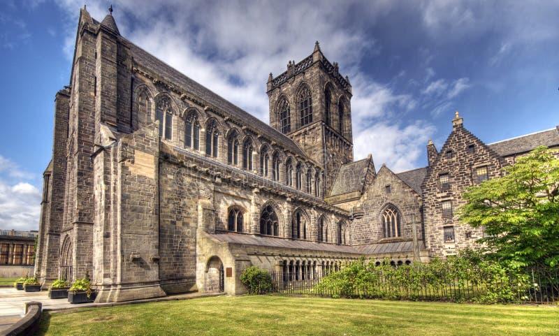 Paisley Abbey. Paisley Abby taken in Glasgow, Scotland stock photography