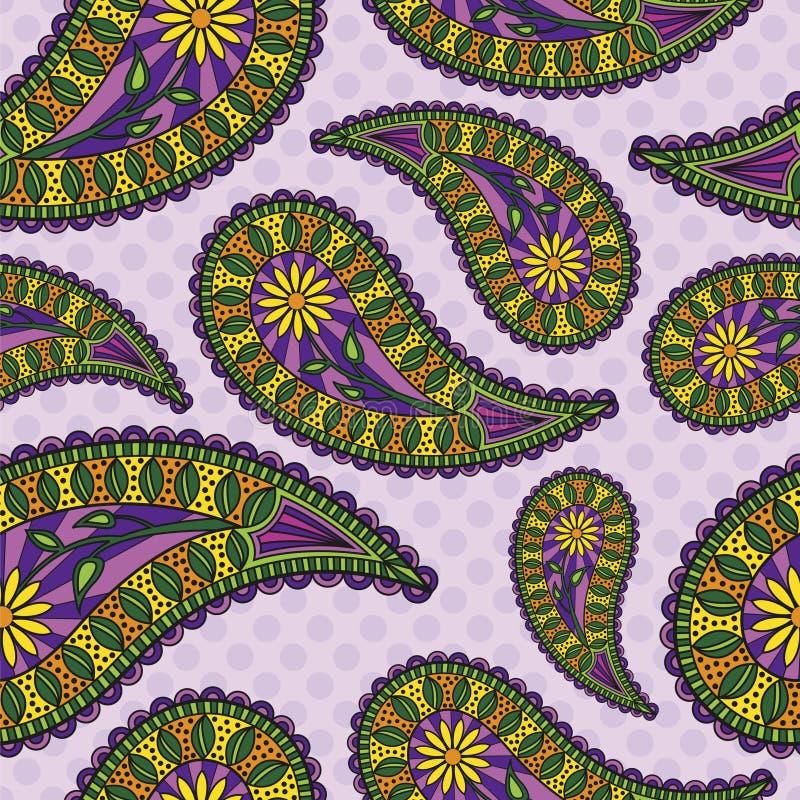 Paisley Background vector illustration