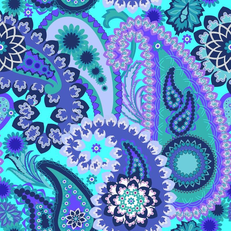 Paisley Colorful Background. royalty free stock image