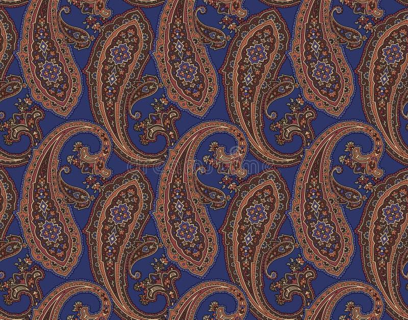 Paisley mönstrar royaltyfri illustrationer
