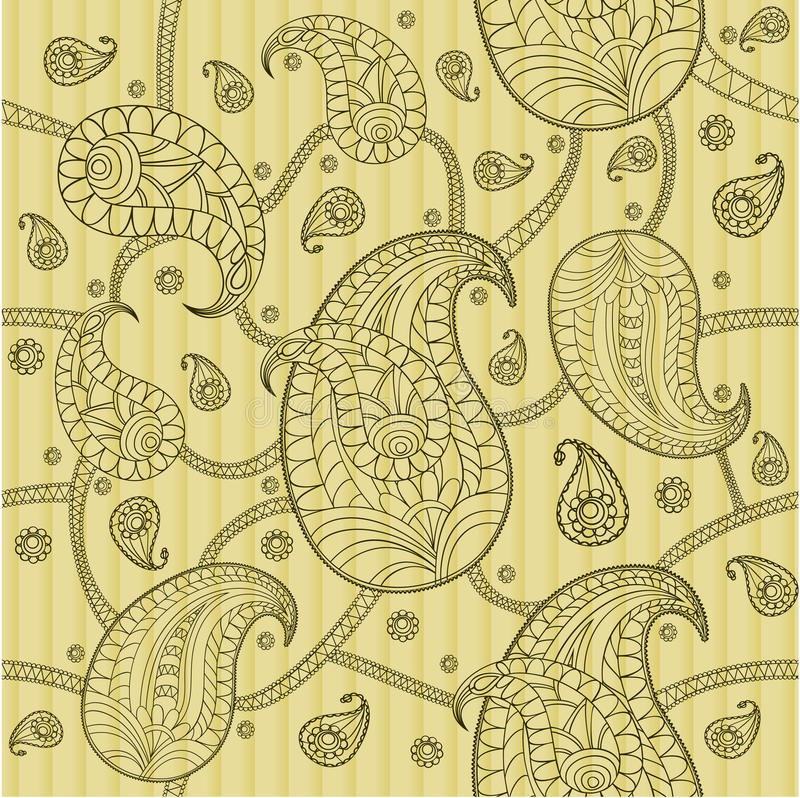 Paisley pattern vector illustration