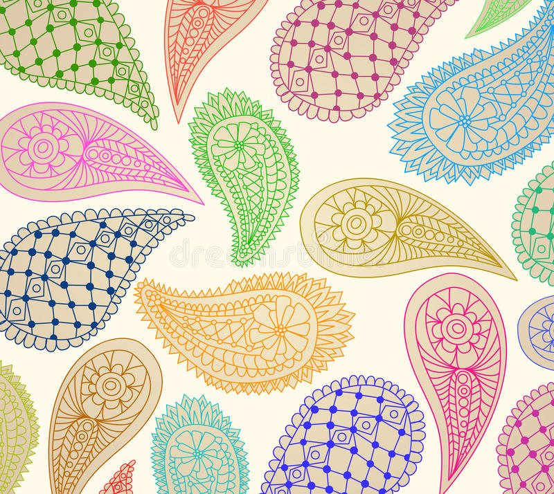 Download Paisley Pattern Royalty Free Stock Image - Image: 23726986