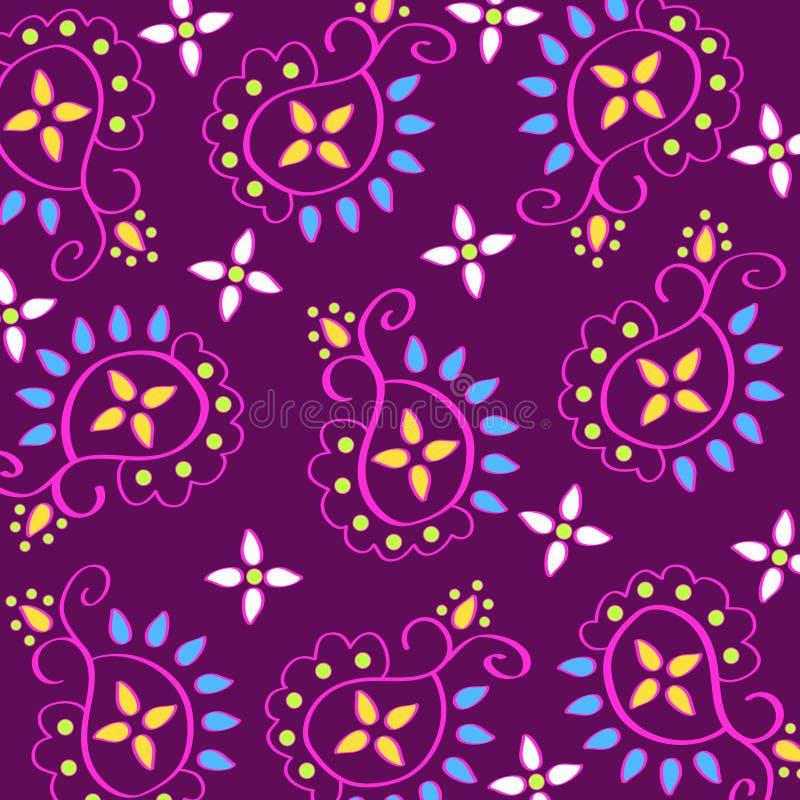 Download Paisley pattern stock illustration. Illustration of floral - 2647000