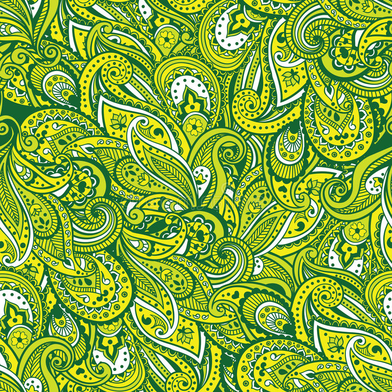 Download Paisley pattern stock vector. Image of festive, ethnic - 29058424