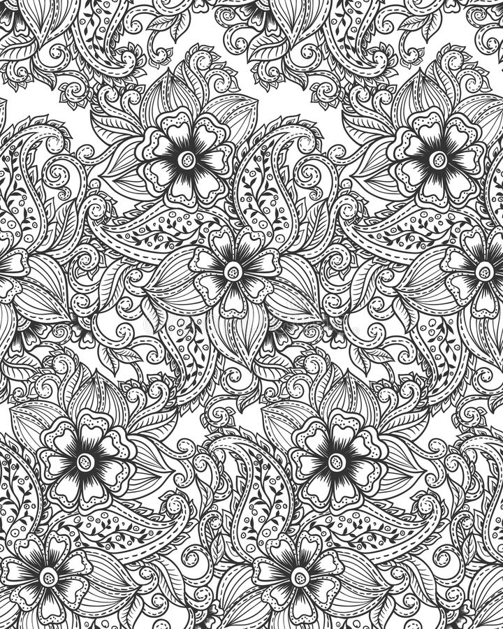 Free Paisley Pattern Royalty Free Stock Image - 35966456