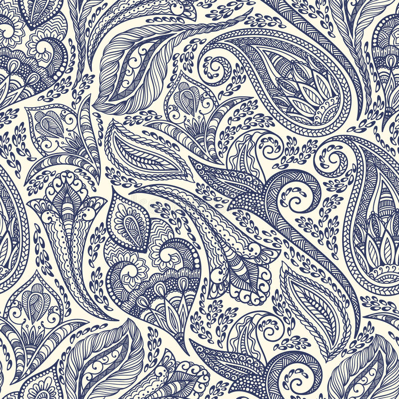 download paisley pattern stock vector illustration of element 51782819