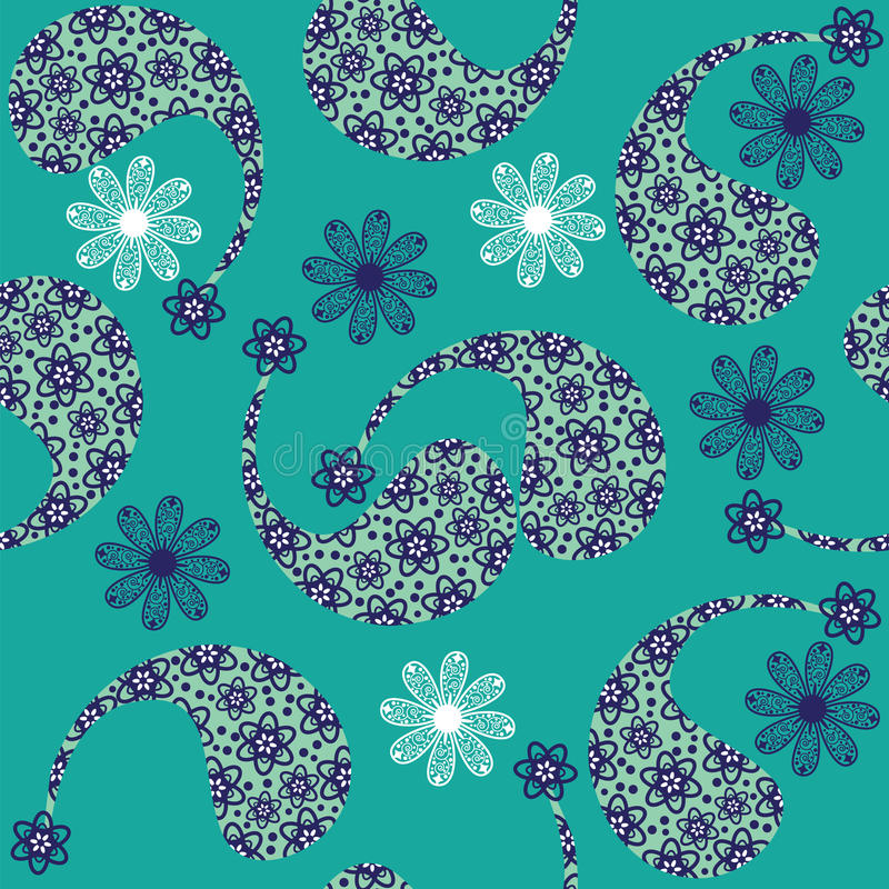 Paisley seamless pattern (pattern Bootha). Seamles. S pattern can be used for wallpapers, clothes, tableware, packaging, posters and other purposes. Cute vector vector illustration