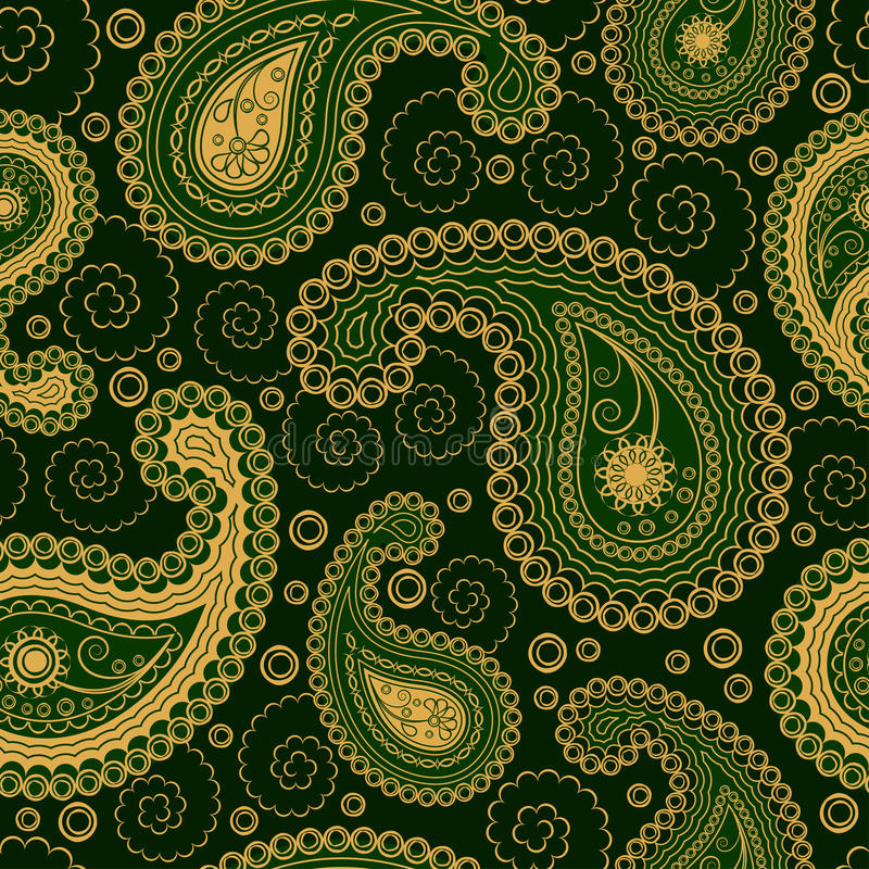 Download Paisley Style Seamless Ornament Stock Vector - Image: 16469468
